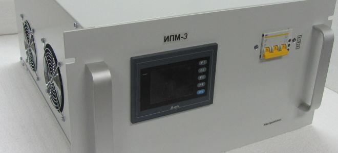 Источник питания магнетрона распыления ИПМ-3