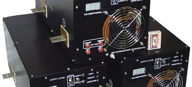 Источники постоянного тока для электролиза