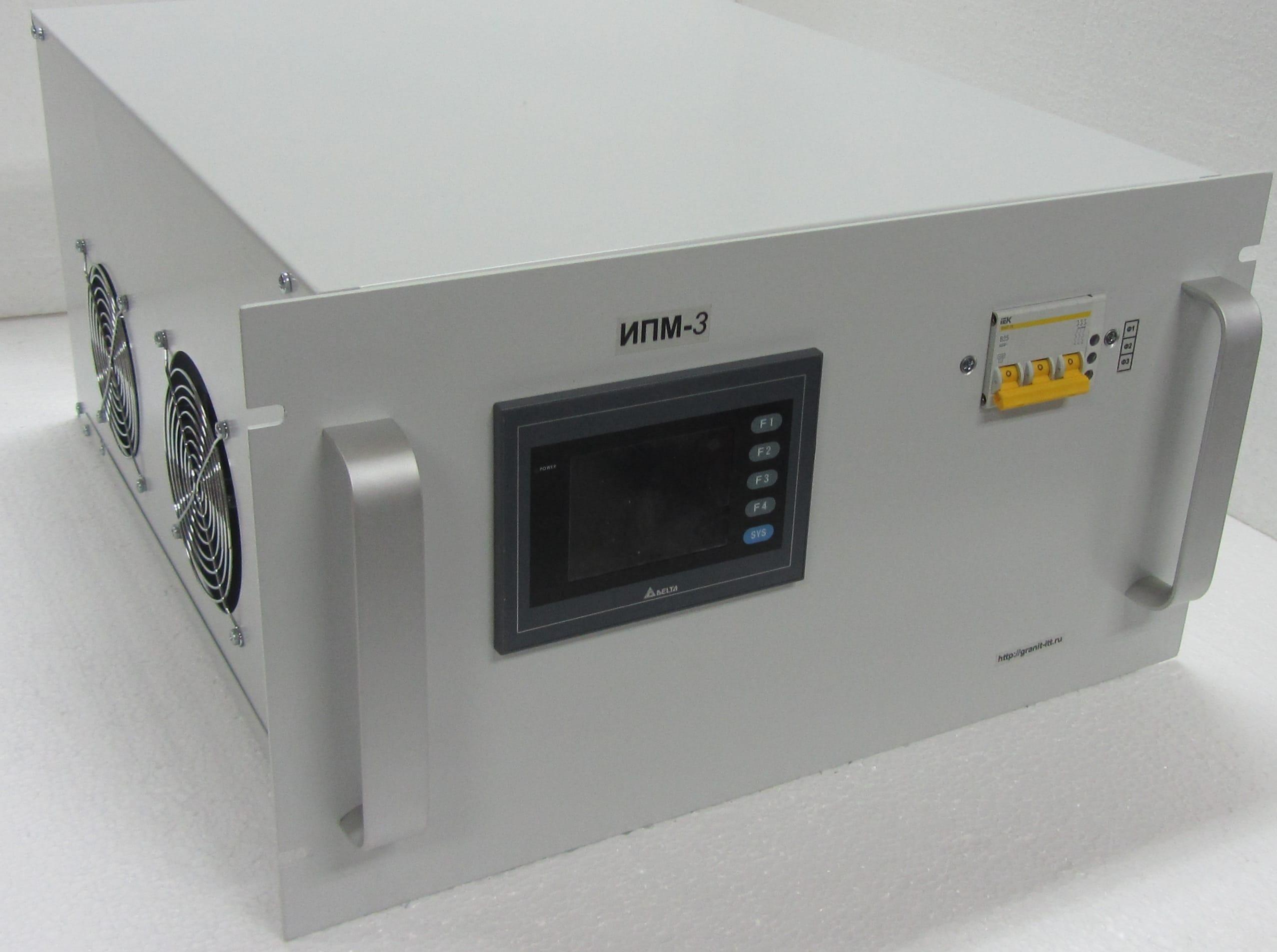 Источник питания магнетрона ИПМ-3